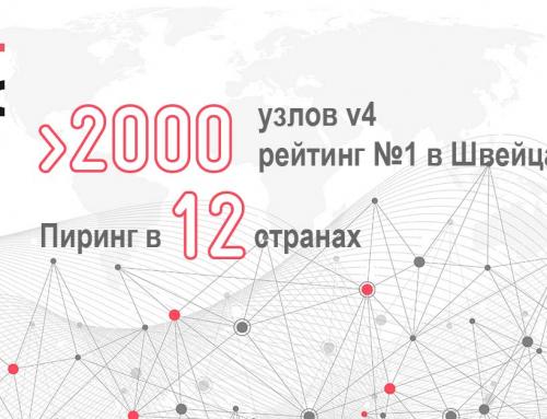 Более 2000 узлов iPv4
